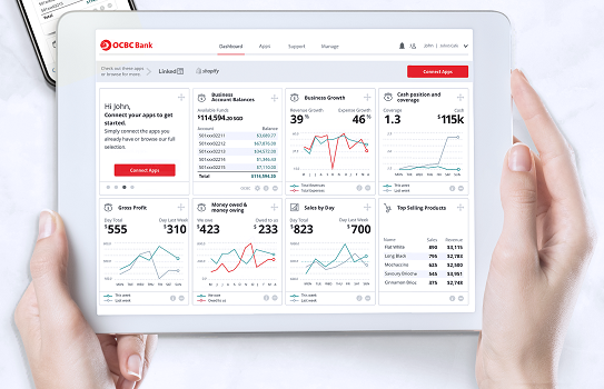 OCBC Bank launches digital business dashboard for SME
